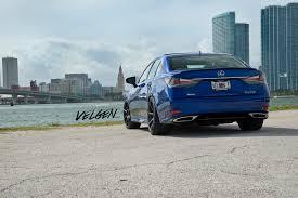 lexus suv blue ultrasonic blue lexus gs350 fsport velgen wheels vmb8 satin