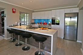 modern gourmet kitchen views holiday apartment in wilderness self catering accommodation