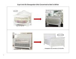 Munire Capri Crib by Amazon Com Munire Crib Full Size Conversion Kit Bed Rails