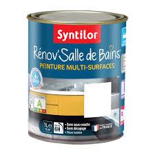 peinture cuisine salle de bain peinture rénov salle de bains syntilor blanc 1 l leroy merlin