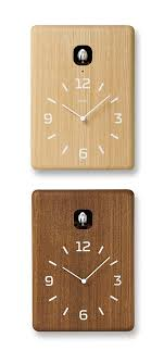 accessories minimalist cuckoo wooden kitchen wall clocks 33