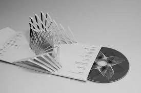 Origami Cd Cover - packaging pop up cd packaging choi to the world