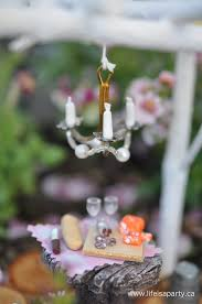 Miniature Chandelier Fairy Garden Fish Hook Miniature Chandelier Life Is A Party