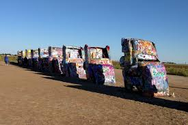 cadillac ranch carolina wandering wheels volkssport