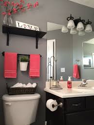 Pink And Black Bathroom Ideas Ideas To Decorate A Small Bathroom With Colour