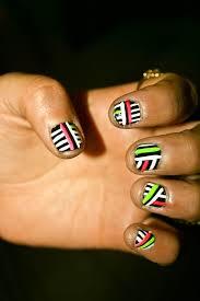 neon nails aphan