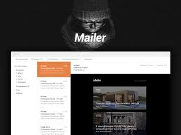 mailer email template free psd freebie supply