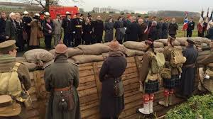 ww1 christmas truce is re enacted by welsh and german soldiers