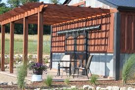 how to build an arbor trellis pergolas arbors and garden structures building our farm by