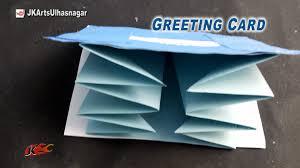 diy greeting card for scrapbook how to make jk arts 912