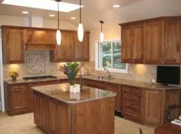 white l shaped kitchen design with black island amazing designs