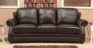 Chestnut Leather Sofa 3 Seater Leather Sofa Settee Chestnut Or Dark Brown