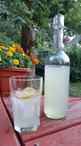 tom collins bottle sweet tart homemade lemonade made entirely by the kids