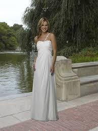 a line dress one shoulder beaded strap maternity wedding dress on