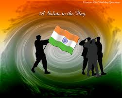 Flag In Computer Painting Of Indian Flag Wallpaper Computer Wallpaper Free