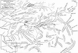 yosemite historic maps yosemite library online