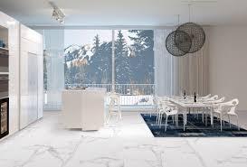 cuisine sol blanc carrelage interieur blanc brillant salle de bain noir et blanc