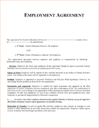 6 employee agreement template timeline template