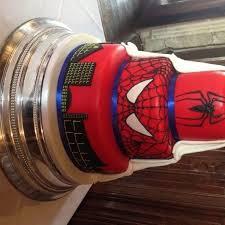 hidden spiderman wedding cake the great british bake off