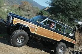 jeep grand wagoneer custom 1987 jeep sj grand wagoneer david london calling off road magazine