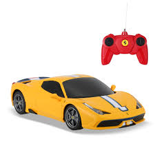 toy ferrari 458 yellow rastar 71900 1 24 ferrari 458 speciale a drift rc car