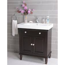 bathroom small bathroom floating vanity with chromed faucet