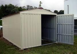 box auto in lamiera zincata prezzi box casetta in lamiera zincata con struttura in acciaio zincato mt