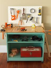 Build A Toy Box Bench by How To Turn Old Furniture Into A Kids U0027 Toy Workbench How Tos Diy