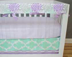 Purple Bedding For Cribs Moroccan Blooms Crib Bedding Baby Bedding Purple Turquoise