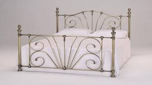 Metal Bed Frame Double Metal Bed Frame Single Double King Super King Youtube