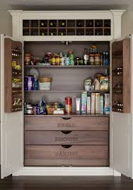 large kitchen pantry cabinet photo by bmlmedia gorgeous chef s pantry with large shelves wine