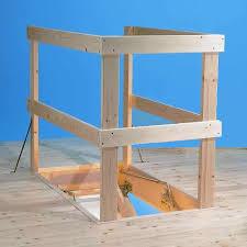 timber loft balustrade kit suitable for all loft ladder openings