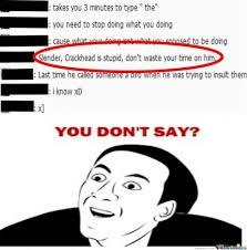U Dont Say Meme - you dont say you dont say meme foto von dominica13 fans teilen