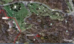 Patapsco State Park Map by Druid Hill Park Legacy Course Professional Disc Golf Association