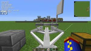 siege engines minecraft 1 6 4 ancient warfare episode 16 siege engines part 1