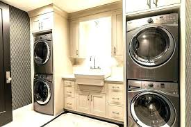 Laundry Room Cabinet Height Above Washer And Dryer Cabinets Cabinet Height Above Washer And