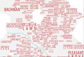 Dallas Map by Dallas Neighborhood Map Dallas Fort Worth Pinterest Dallas