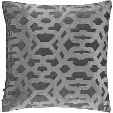 Rodeo Home Silver  Grey Byzantine Cushion TK Maxx POŚCIEL - Tk maxx home furniture