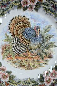 s myott by churchill thanksgiving turkey plate and table