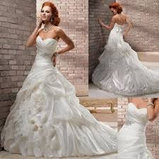 wedding dresses sweetheart neckline ball gown ruffles naf dresses