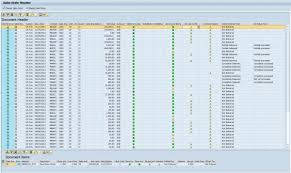 sales order table in sap sap sd sales order monitor report tcode va06