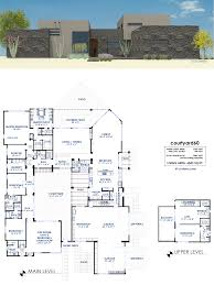Contemporary Plan by Courtyard60 Luxury Modern House Plan 61custom Contemporary