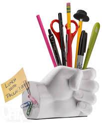 Pen Organizer For Desk Hand Pen Holder With Magnetic Back