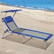 Beach Chair With Canopy Target The Canopied Lounger Hammacher Schlemmer