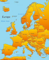 map of wurope map of europe map major tourist attractions maps
