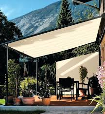 retractable canopy pergola shade systems uk awning diy