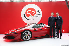 car ferrari 2017 ferrari j50 is japan only special launch party in 25 photos