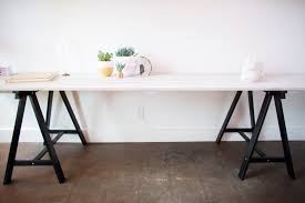 mr kate diy grey stained wood plank table