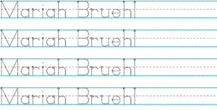 name writing practice teach your child to write their name