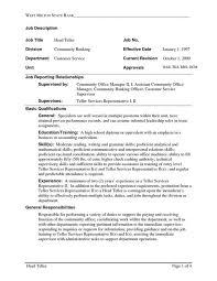 sample resume for bankers skill resume bank teller resume samples bank teller resume with